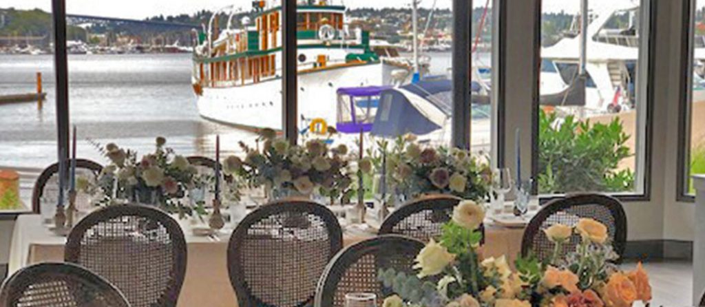 Wedding Reception Views At Dukes Dockside
