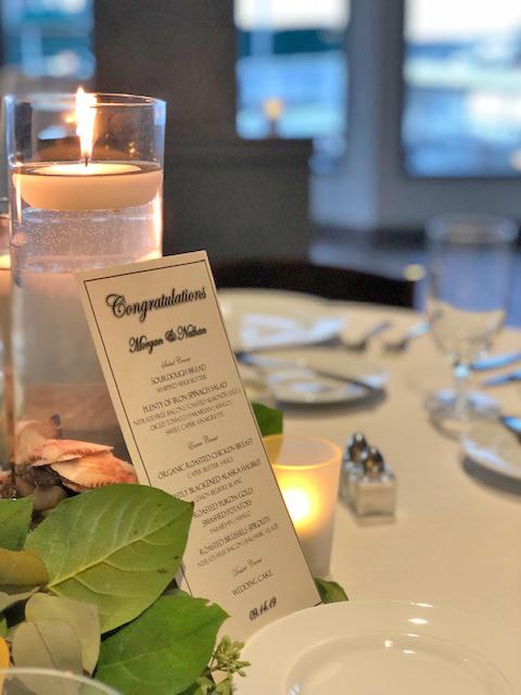 Dockside Table Cards Wedding