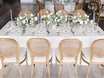 Dockside Wedding Party Table