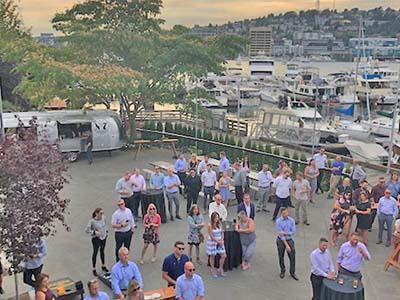 Dockside Outdoor Patio Event